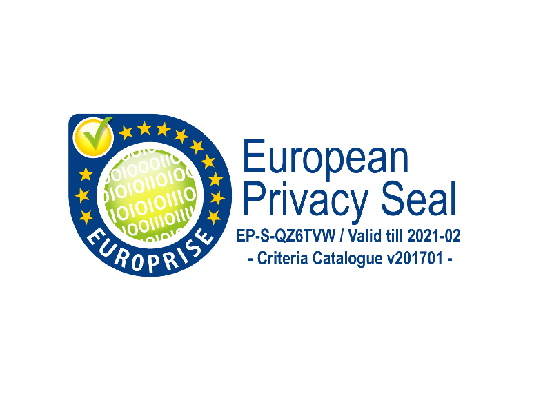 EuroPriSe Certification for ProCampaign